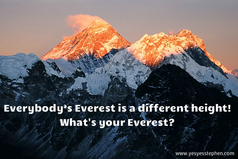 My everest